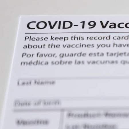 California Man Arrested In Suspected Fake COVID-19 Vaccine Card Operation