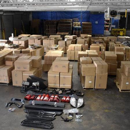 Philadelphia CBP Seizes Nearly $300k in Counterfeit Auto Parts from China