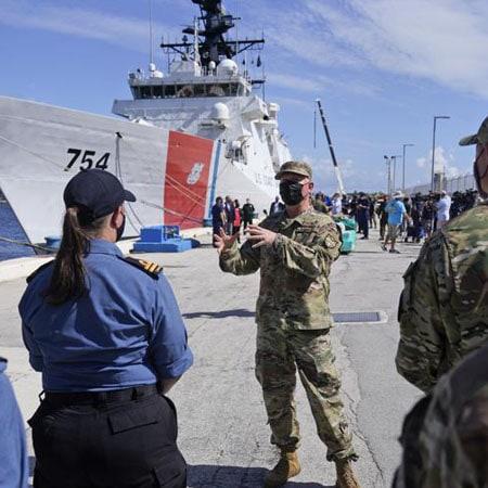 Coast Guard offloads $1.4 billion in drugs at Florida port