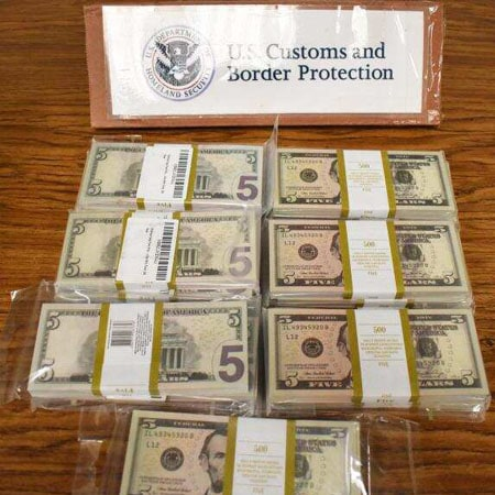Philadelphia CBP Officers Seize Nearly $100k in Counterfeit Currency from Russia destined for Illinois